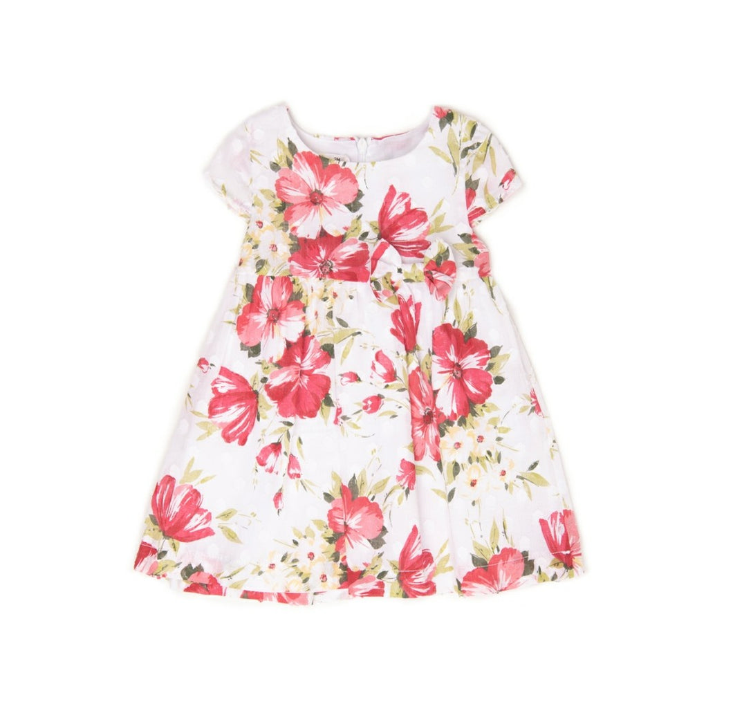 Babybol Girls Floral Summer Dress