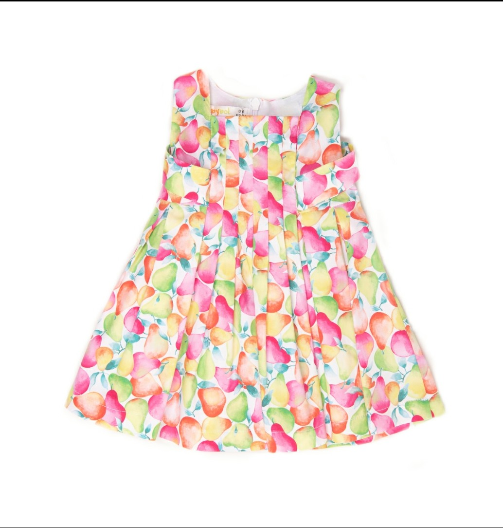 Babybol Girls Pears Summer Dress