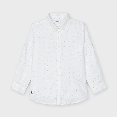 Mayoral Basic linen shirt for boy