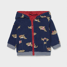 Load image into Gallery viewer, Mayoral ECOFRIENDS reversible windbreaker jacket for newborn boy