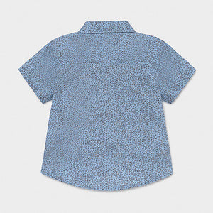 Mayoral Print short sleeved shirt for baby boy