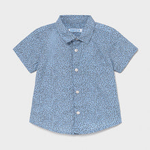 Load image into Gallery viewer, Mayoral Print short sleeved shirt for baby boy