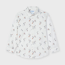Load image into Gallery viewer, Mayoral Long sleeved print shirt for boy