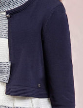 Load image into Gallery viewer, Abel & Lula Navy Knit Cardigan