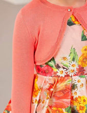 Load image into Gallery viewer, Abel & Lula Coral Bolero Knit Cardigan
