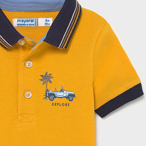 Mayoral Polo for baby boy:- Yellow
