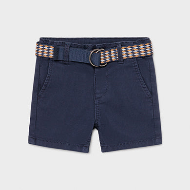Mayoral Shorts with belt for baby boy
