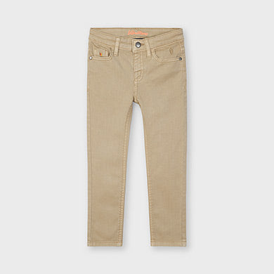 Mayoral Skinny twill trousers for boy
