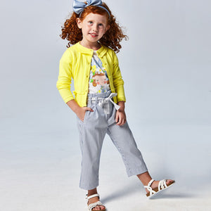 Mayoral Striped trousers for girl
