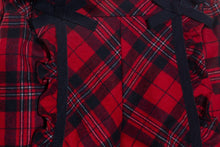 Load image into Gallery viewer, Patachou Christmas Red Tartan Shorts