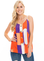SE Brush Stripes Tank
