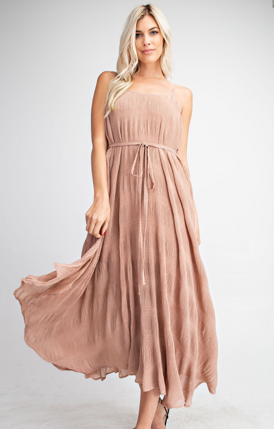 GM Tiered Maxi Dress