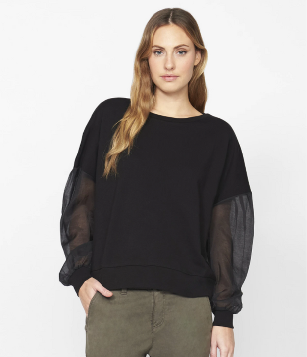 ST Sheer Sleeve Top