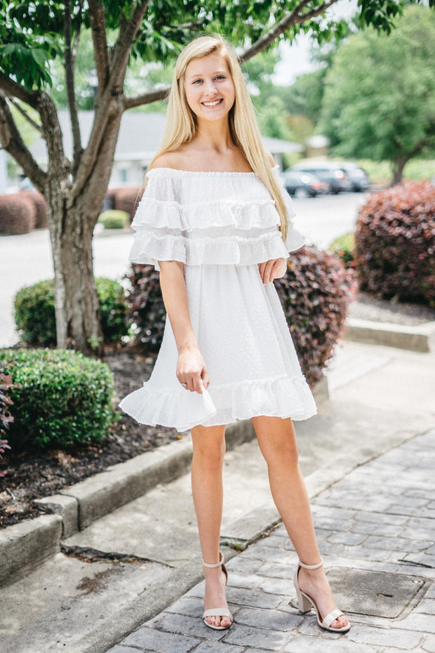 TCC Off Shoulder Dress
