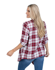 UG Plaid Cardigan