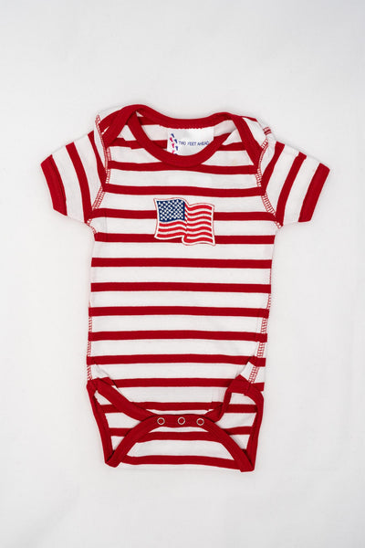 TF Flag Striped Onesie