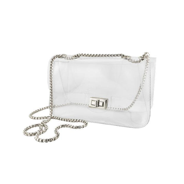 CD Clear Chain Satchel