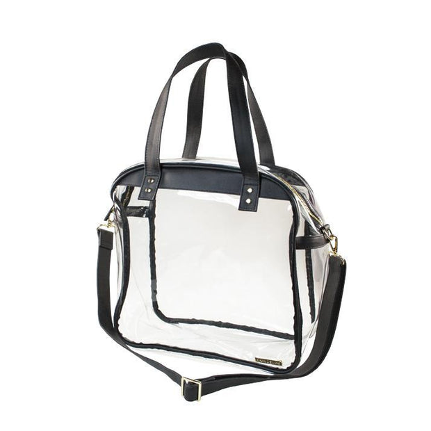 CD Clear Convertible Tote