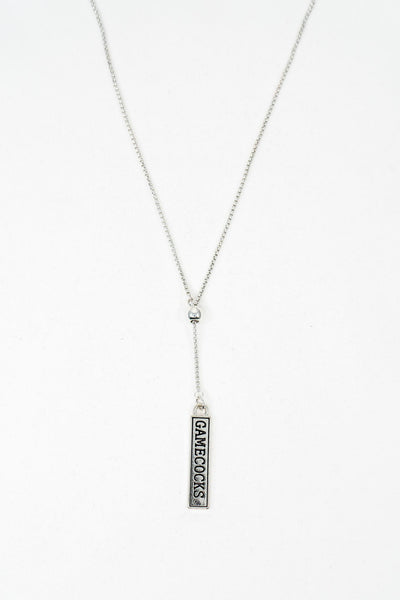 ES Gamecocks Lariat Necklace