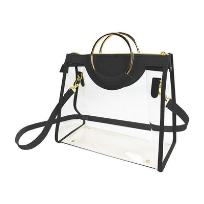 CD Clear Ring Handbag