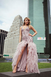 CO Trumpet Tulle Gown