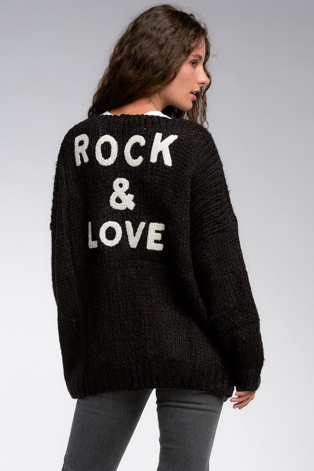 EN Rock Love Cardigan