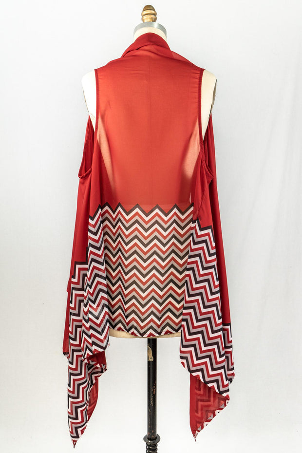 ES Sheer Chevron Vest