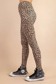143 Cheetah Ribbed Leggings
