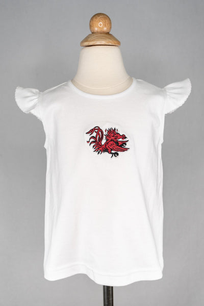 VI Embroidered GC Top