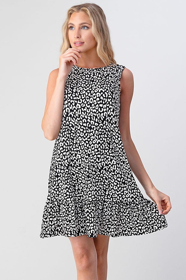 PI Leopard Tank Dress
