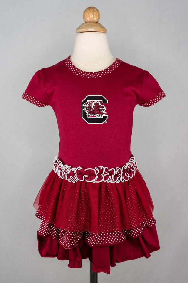 TF Gamecock Tutu Dress