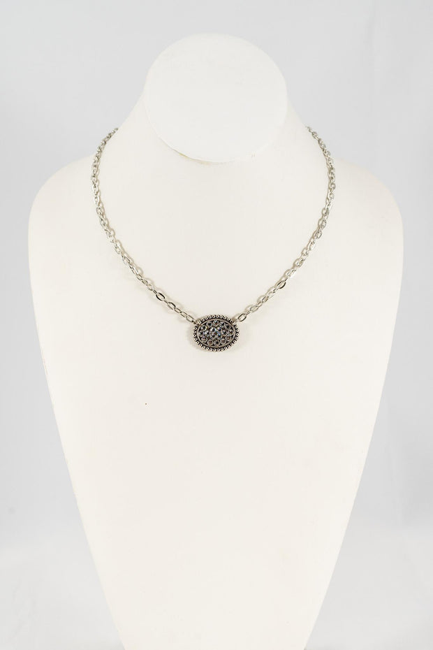 PP Small Crystal Necklace