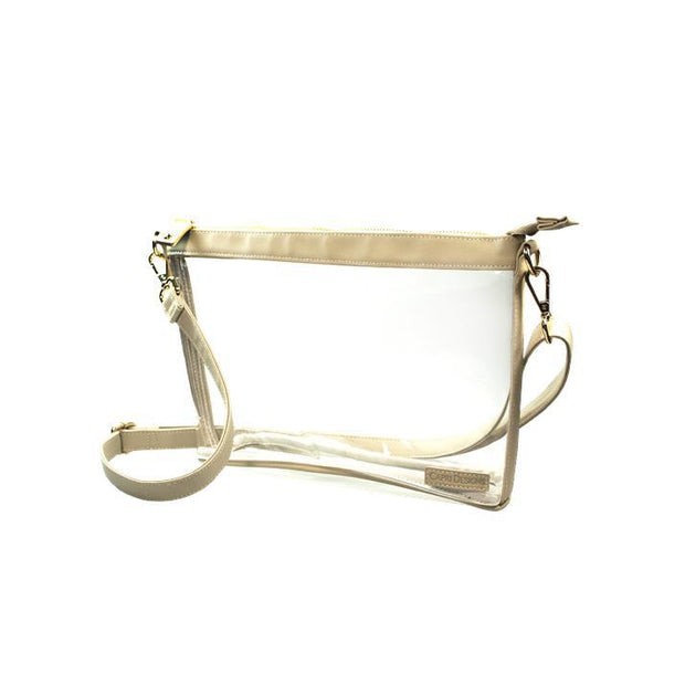CD Clear Large Crossbody