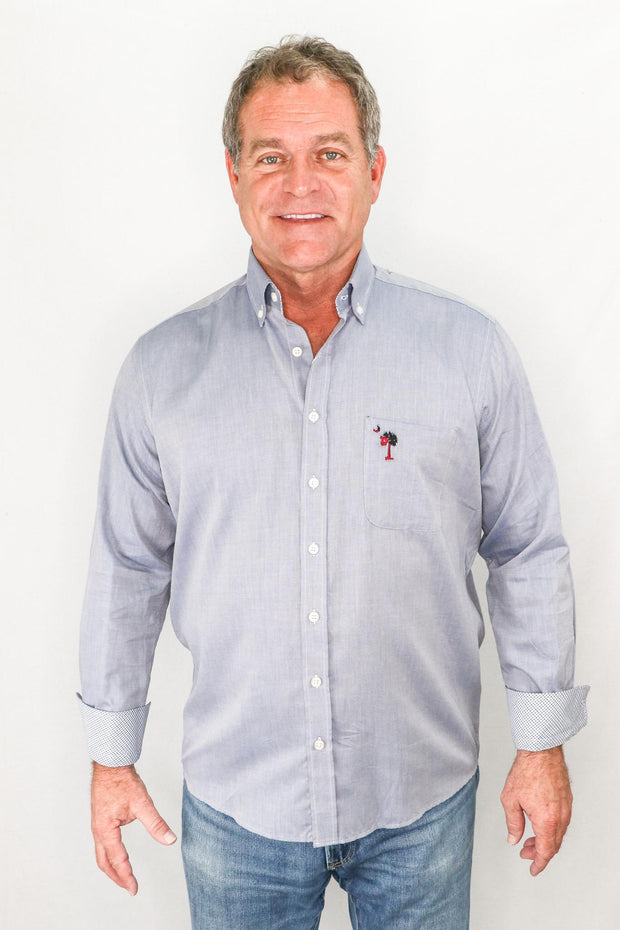 FM Palmetto Button Down