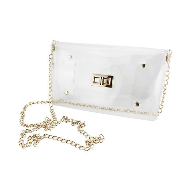 CD Clear Envelope Crossbody
