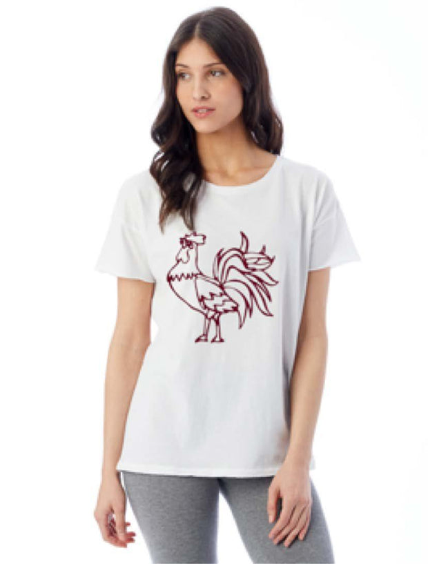 SE Distressed Rooster Tee