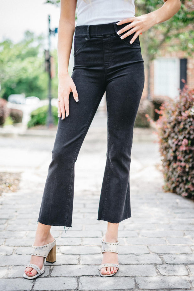 SPX Cropped Flare Jeans