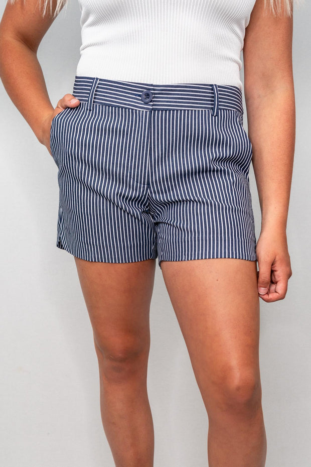 JM Stripe Shorts