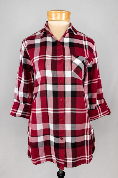UG Plaid Tunic