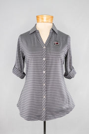 CB Women's Stripe Polo