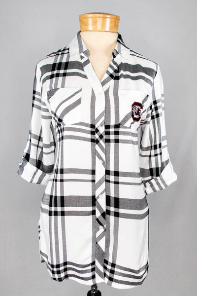 UG Plaid Button Up
