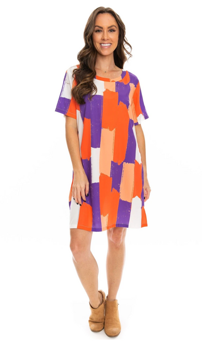 SE Brush Stripes Dress