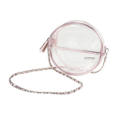 CD Clear Circle Crossbody