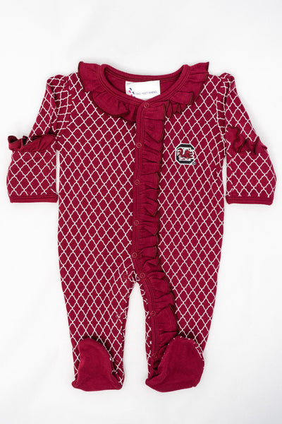 TF Lattice Foot Onesie