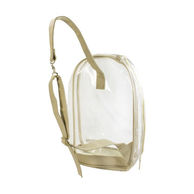 CD Clear Sling Backpack