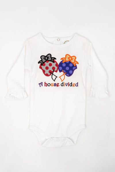 BB House Divided Onesie