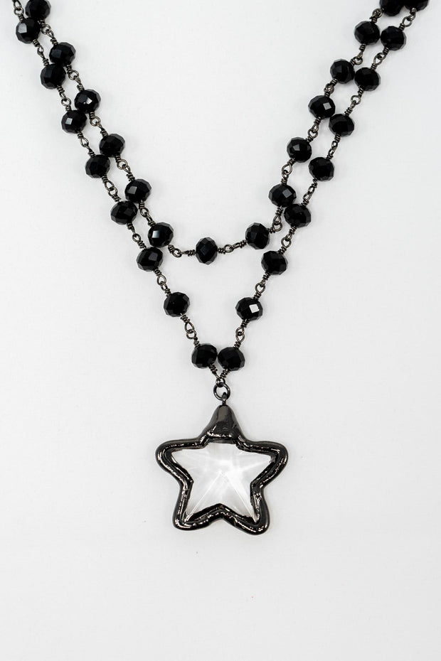 VU Handmade Star Necklace