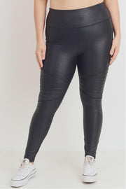 MB Foil Moto Leggings