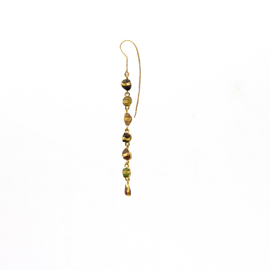 Earrings.. 22k gold - The LoU Zeldis Collection....