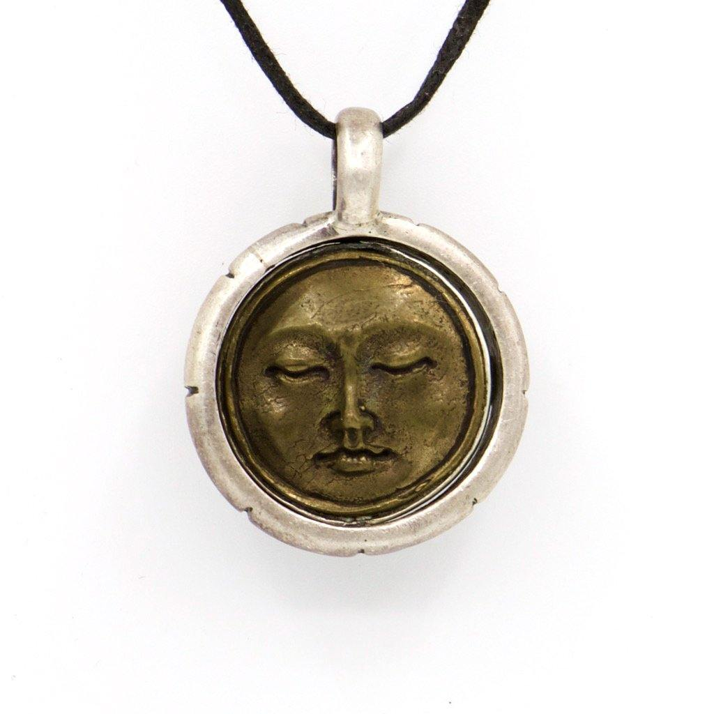 Pendant.. sterling silver - The LoU Zeldis Collection....